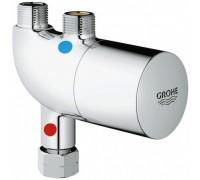 Универсальный термостатический смеситель GROHE Grohtherm Micro для раковины или мойки, хром