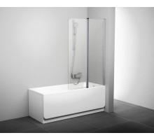 CVS2-100 R Шторка для ванны блестящий+стекло Transparent