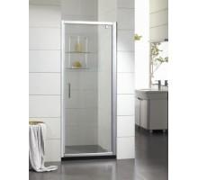 BD080.4110A Душевая дверь BRAVAT Drop 800X2000 в нишу с 1 сдв. дверью. 6 мм проф. алюм.