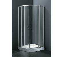 W75E-225-090MT Sense deep, душ уголок90х90см, профиль матовый хром, прозрачное стекло