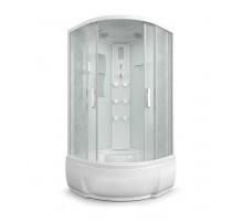 Душевая кабина Erlit ER5709TP-C33 900*900*2150 высокий поддон, светлое стекло
