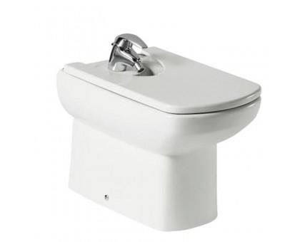 Биде напольное Roca DAMA SENSO с сиденьем, белый