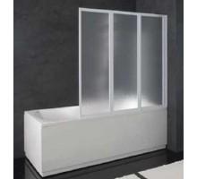Шторка для ванн Kolpa San QUAT TP 140x135 (белый полистерол) для прямоугольных ванн